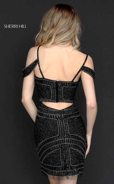 Sherri Hill 51292 Black