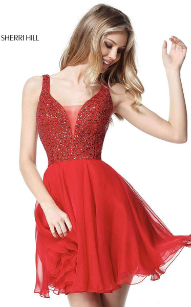 Sherri Hill 51294 Red