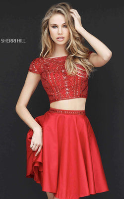 Sherri Hill 51300 Red