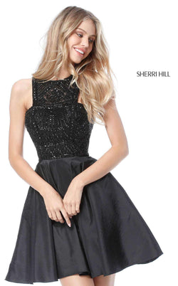 Sherri Hill 51302 Black