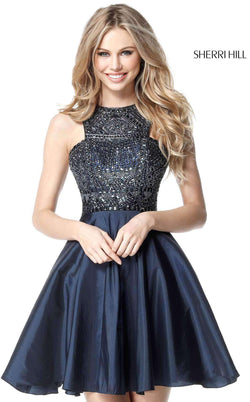 Sherri Hill 51302 Navy