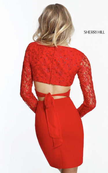 Sherri Hill 51304 Red