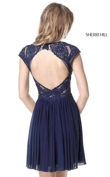 Sherri Hill 51311 Navy