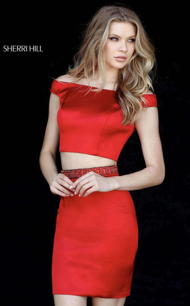 Sherri Hill 51318 Red