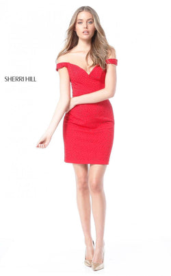 Sherri Hill 51324 Red