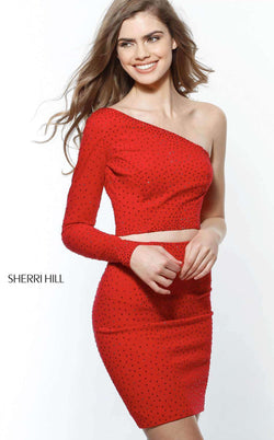 Sherri Hill 51326 Red