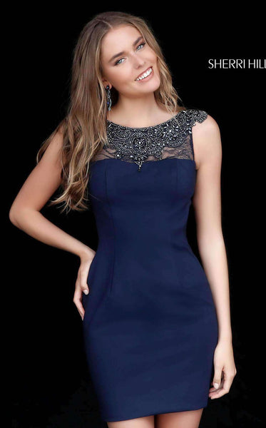 Sherri Hill 51328 Navy