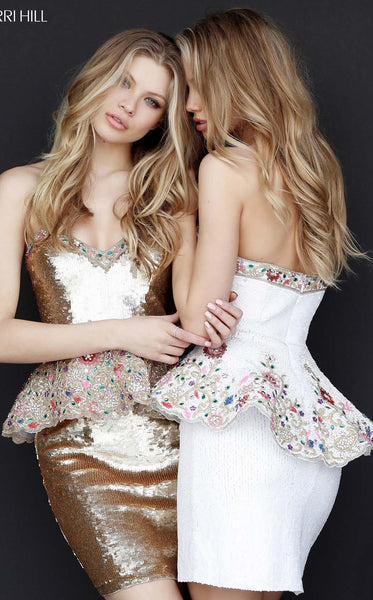 Sherri Hill 51345 Gold