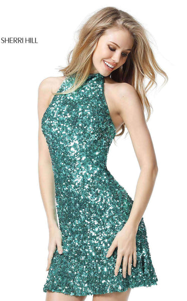 Sherri Hill 51346 Emerald