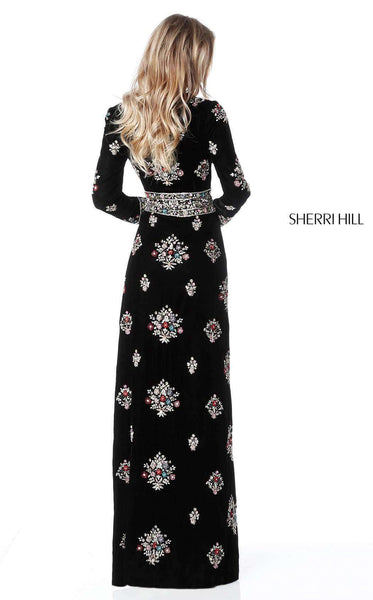Sherri Hill 51348 Black/Multi