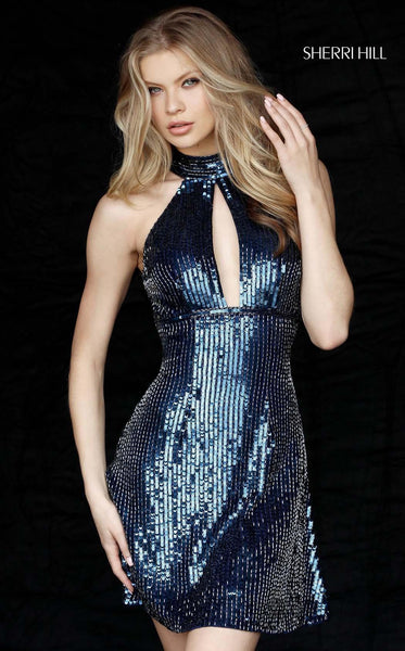 Sherri Hill 51354 Navy