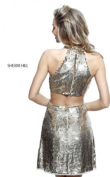 Sherri Hill 51354 Gold