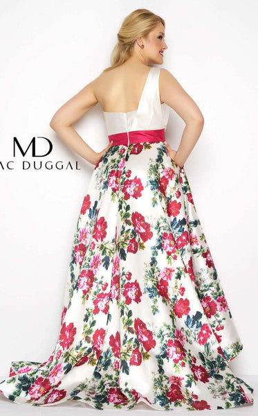Mac Duggal 65973F White Multi