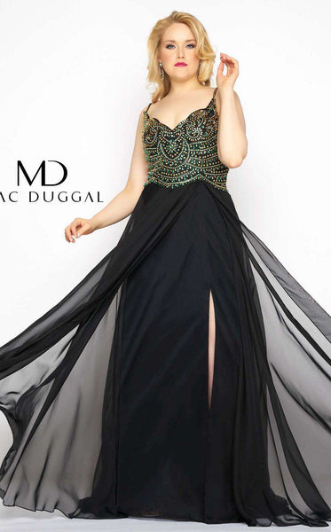 Mac Duggal 65979F Black