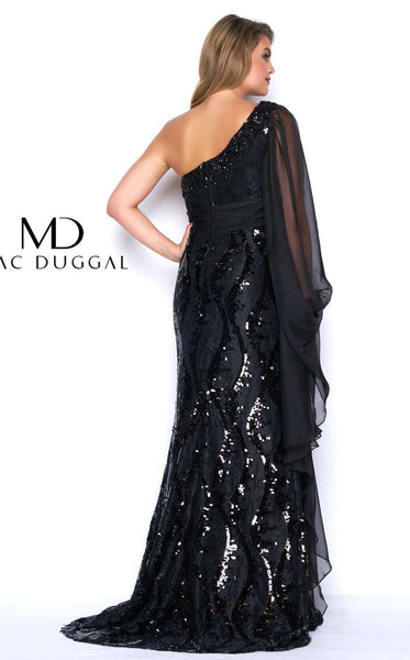 Mac Duggal 77117F Black