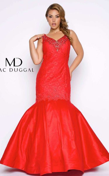 Mac Duggal 77178F Red