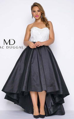 Mac Duggal 77188F Black/White