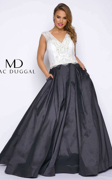 Mac Duggal 77250F Black/White