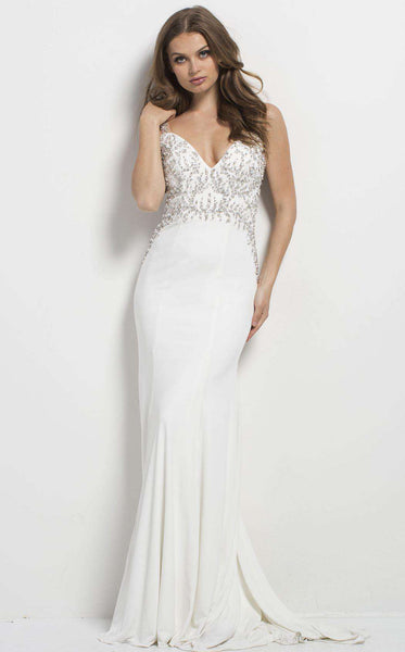 Jovani 48947 Off White