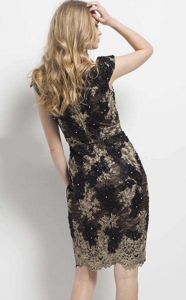 Jovani 50191 Black/Gold