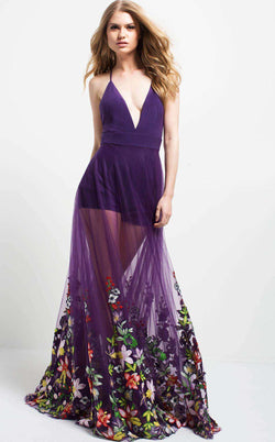 Jovani 50312 Purple
