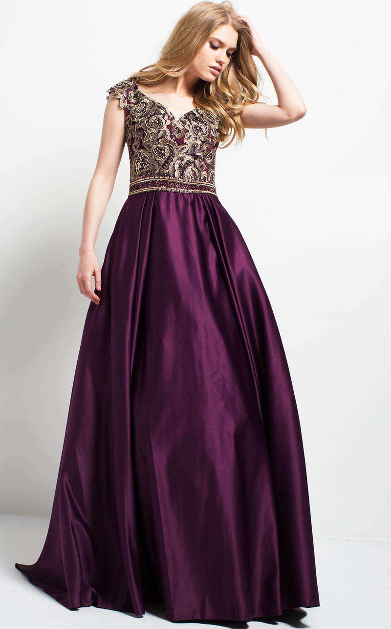 Jovani 50439 Purple