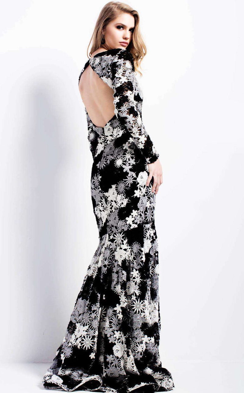 Jovani 50621 Black/White