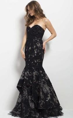Jovani 37502 Black/Gold