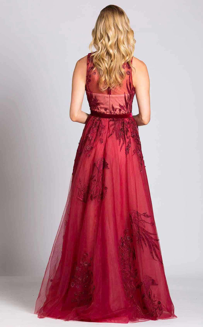 Lara 33527 Dark Red