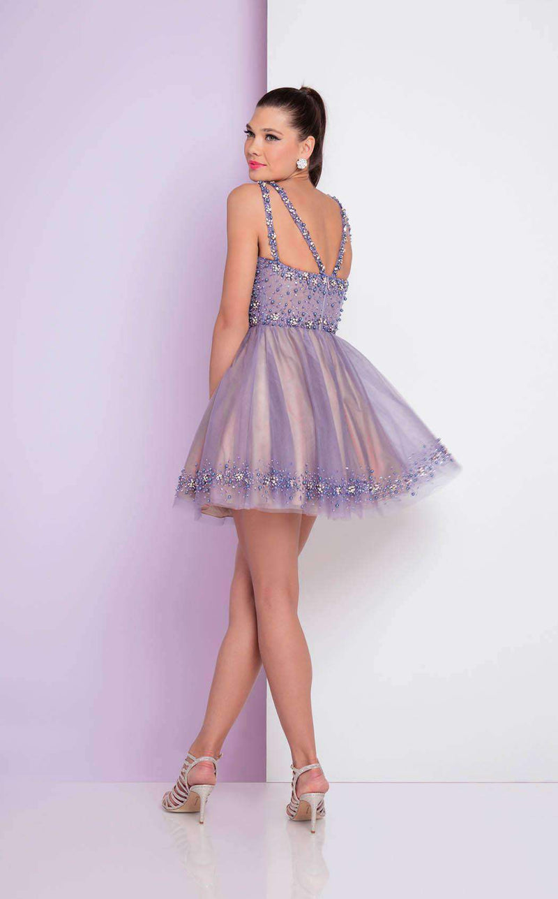 Terani 1722H4583 Powder Blue/Nude