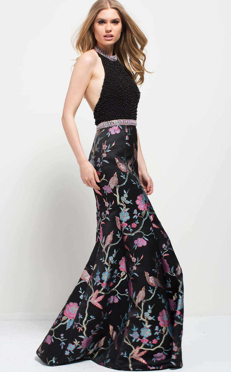 Jovani 53081 Black/Multi