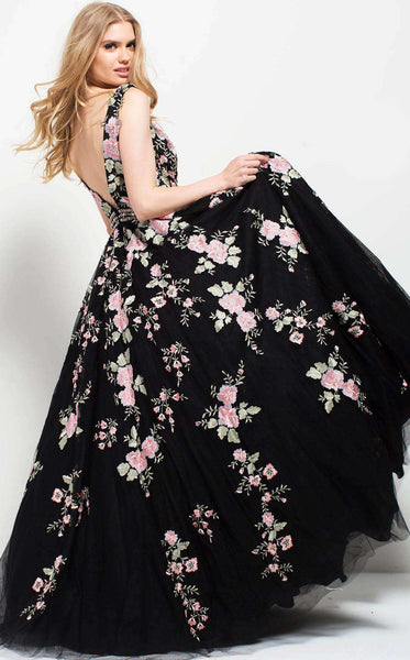 Jovani 53096 Black/Multi