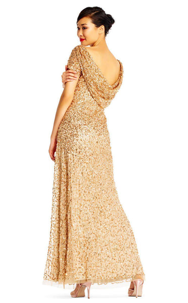 Adrianna Papell AP1E202166 Champagne/Gold