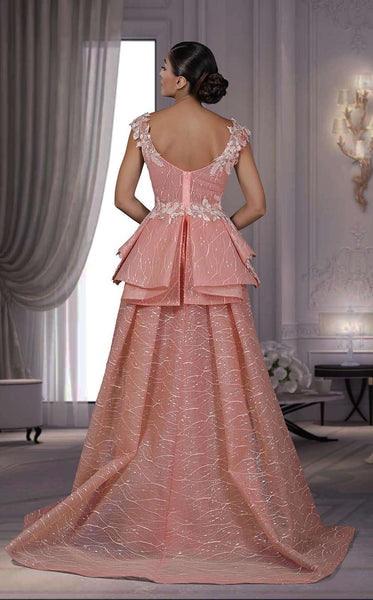 MNM Couture K3532 Peach