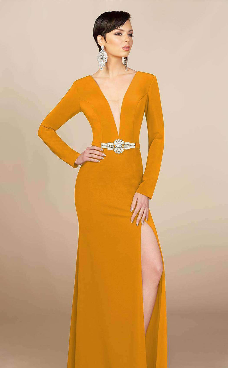 MNM Couture M0006 Mustard
