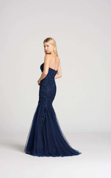 Ellie Wilde EW118108 Navy Blue