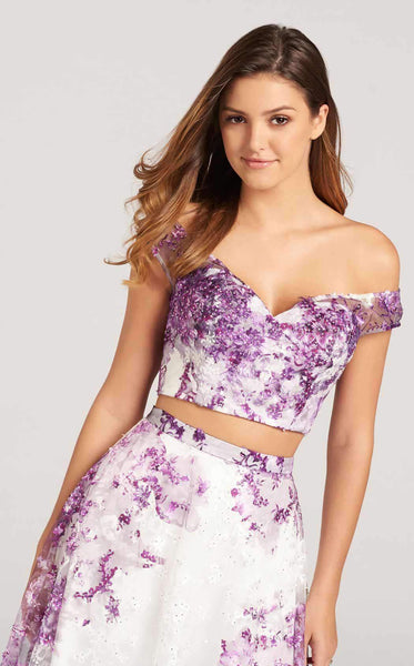 Ellie Wilde EW118112 White/Purple