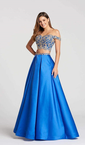 Ellie Wilde EW118122 Royal Blue/Gold