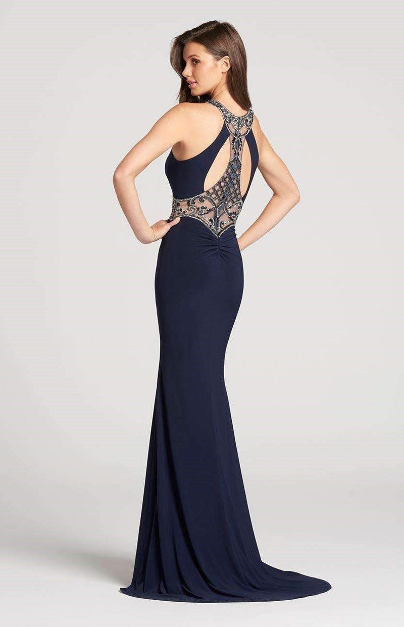 Ellie Wilde EW118175 Navy Blue