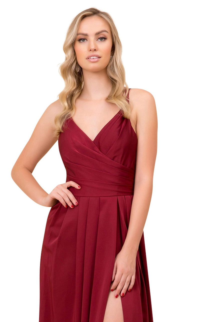 Nox Anabel 8347 Dress Burgundy