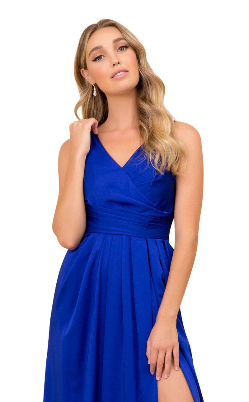 Nox Anabel 8347 Dress Royal-Blue