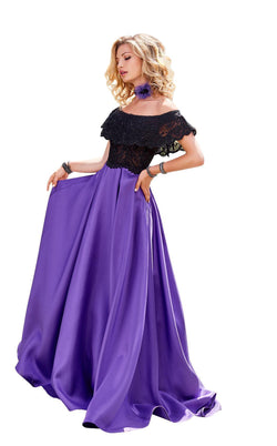 Clarisse 3582 Black/Purple