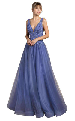 Andrea and Leo A0072 Periwinkle Blue