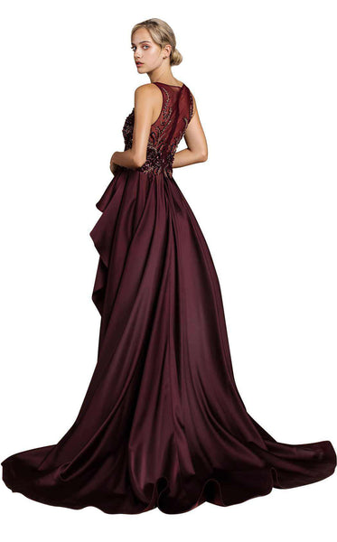 Andrea and Leo A0299 Plum