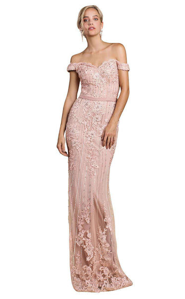 Andrea and Leo A0398 Pale Rose