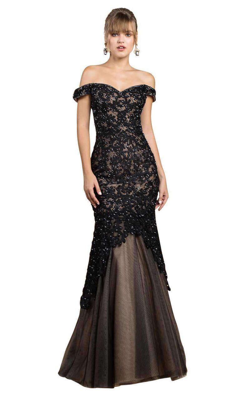 Andrea and Leo A0401 Black/Nude