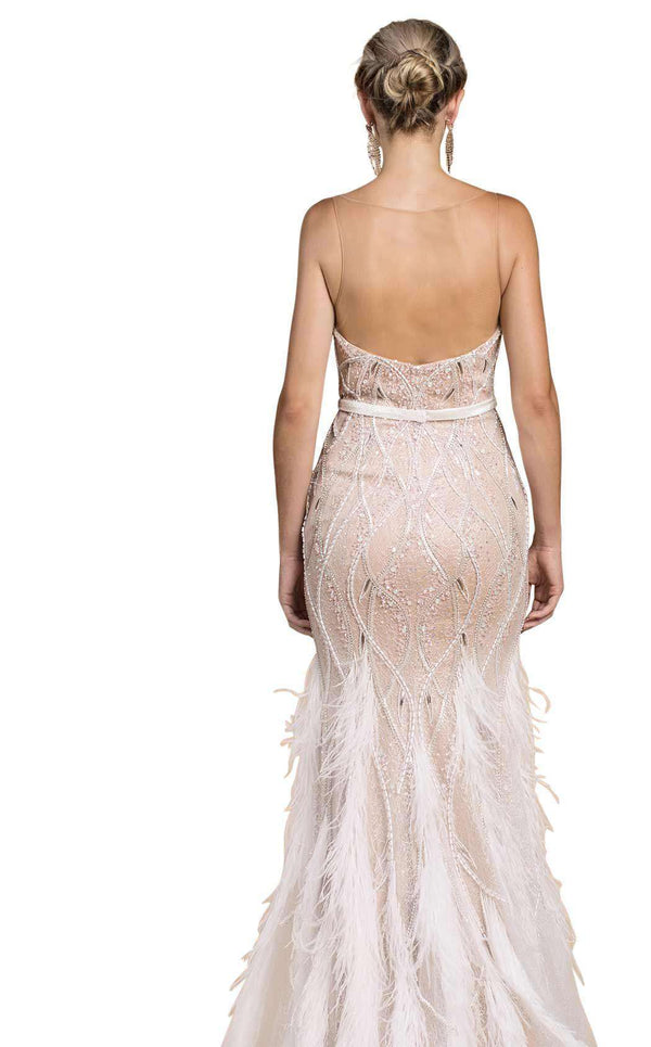Andrea and Leo A0467 Ivory/Nude