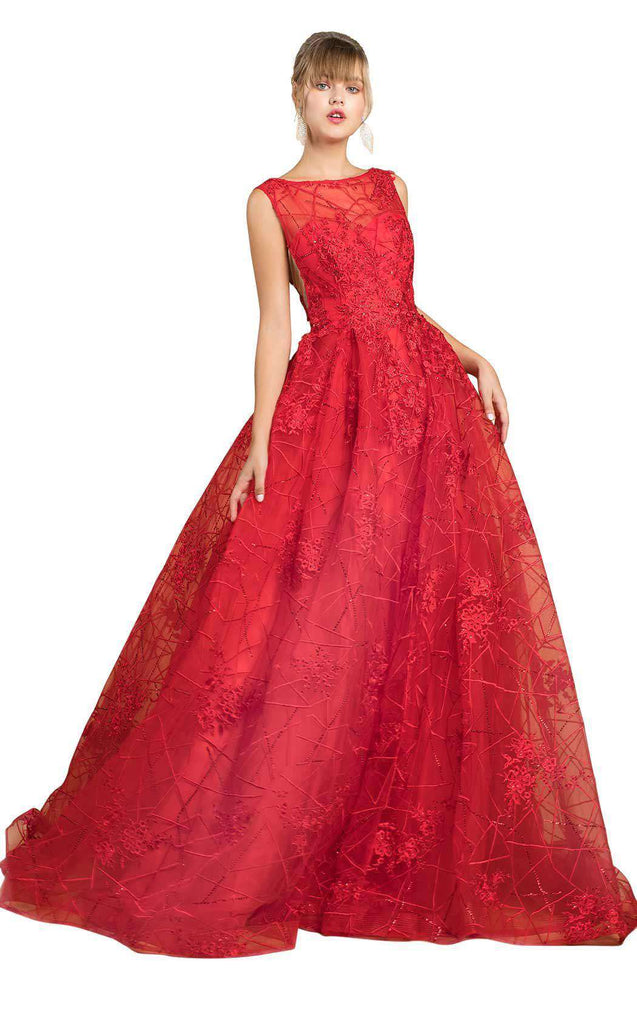 Formal in Red
