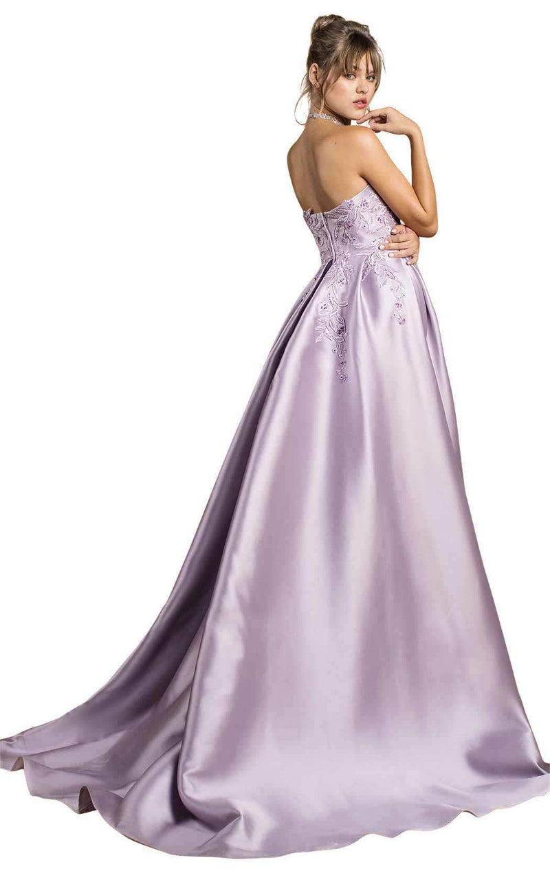 Andrea and Leo A0486 Lilac