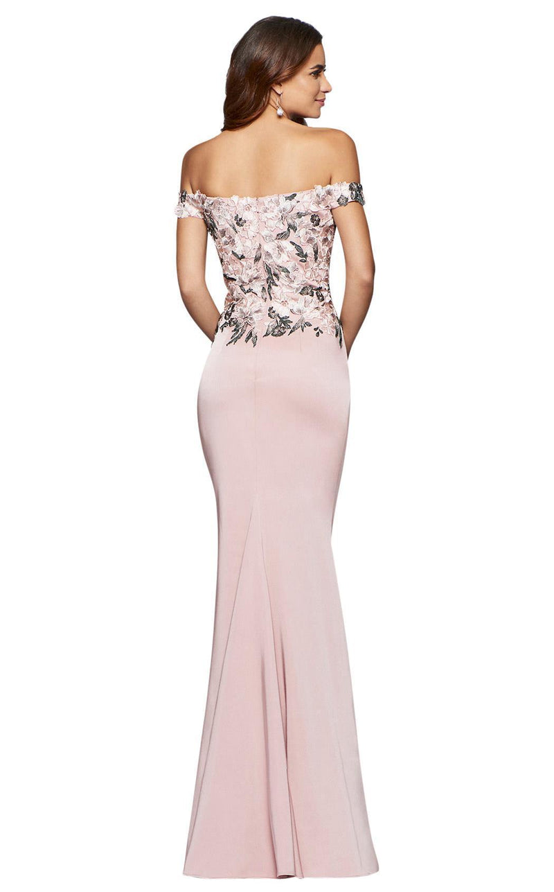 Faviana S10021 Dusty Pink